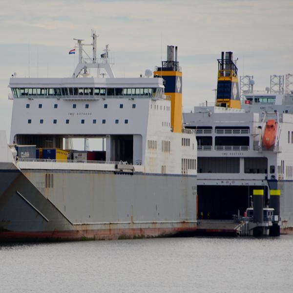 Export – Roro en/of containers